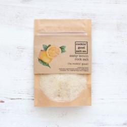Rock Salt infused with Zesty Lemon 70g Pouch