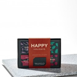 Happy Holidays Raw Chocolate Gift Box