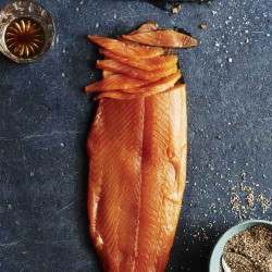 Classic Whisky & Maple Syrup Infused Smoked Salmon