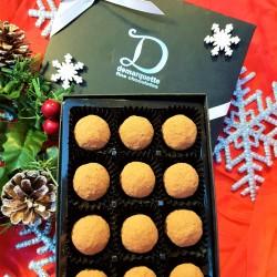 Festive Chocolate Truffle Box