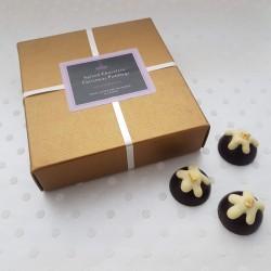 Spiced Chocolate Christmas Puddings