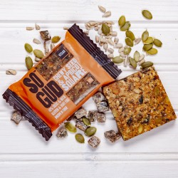 Chewy Seed and Apricot Square