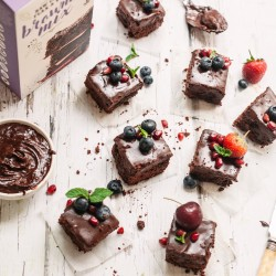 Gluten-Free Raw Cacao, Flax & Teff Brownie Mix