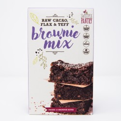 Raw Cacao, Flax & Teff Brownie Mix
