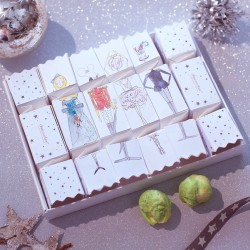 Nutcracker Chocolate Sprout Christmas Crackers