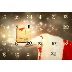Free From Chocolate Advent Calendar - Santa's Gift