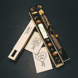 Handmade Chocolate Long Mix Gift Box