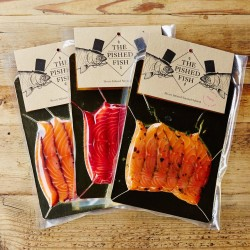 Monthly Booze Infused Smoked Salmon Subscription