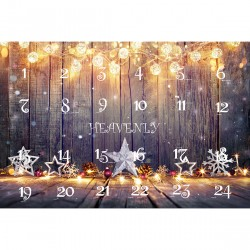 Free From Chocolate Advent Calendar - Stars & Lights