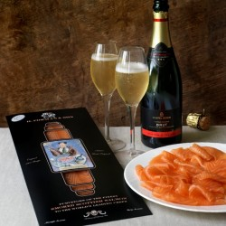 Smoke & Bubbles - The worlds best smoked salmon and English sparking wine