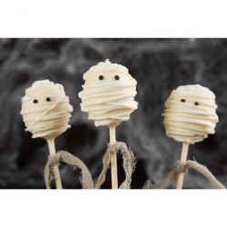 Halloween Mummy Cake Pops (Set of 10)