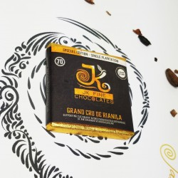 Rare Madagascan 70% Dark Chocolate - Grand Cru de Rianila (3 Bars)