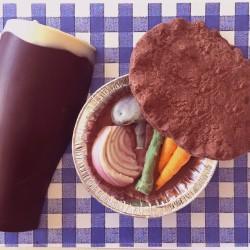 Chocolate Pie And Pint