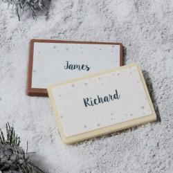 Christmas Chocolate Table Names