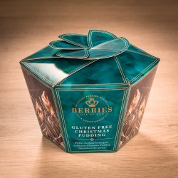 2LB Gluten Free Christmas Pudding