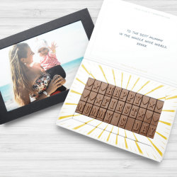 Personalised Chocolate Photo Box