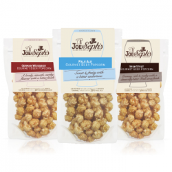 Beer Flavoured Gourmet Popcorn Selection