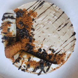 Vegan Banoffee Cheesecake