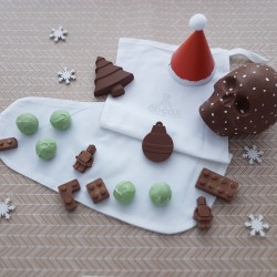 Christmas Stocking with Milk Chocolate Gifts