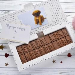 Apology Chocolates
