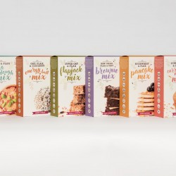 The Sweetpea Pantry Range - Four Healthy Baking Mixes