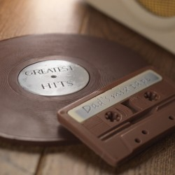 Chocolate Vinyl Record