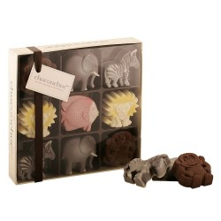 Chocolate Zoo Animals Selection Box