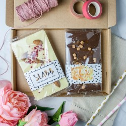 The Couple's Chocolate Slab Subscription Box (Vegan Option Available)