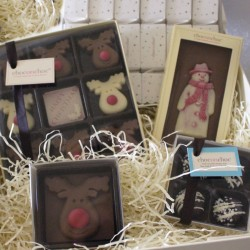 Festive Christmas Chocolate Hamper
