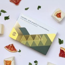 Cannabis & Pink Grapefruit Gourmet Marshmallows