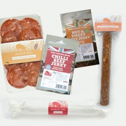 'Some Like it Hot' Rare Breed Chorizo, Salami & Jerky Pack