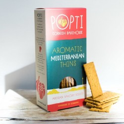 Aromatic Mediterranean Savoury Biscuit Thins (5 packs)