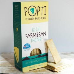 Rich Parmesan Savoury Biscuit Thins (5 packs)