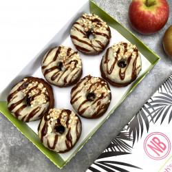 Vegan Doughnuts - Toffee Apple (Box of 6)