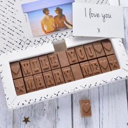 Marriage Proposal Chocolates