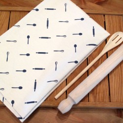 baking gift tea towel