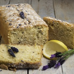 Lavender and Lemon Loaf Cake (Gluten & Dairy Free)