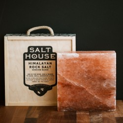 Salthouse Square Himalayan Salt Block with Box