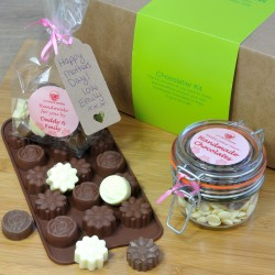 Personalised Mothers Day Flower Chocolate Making Kit