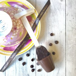Three Dairy Free Owl Hot Chocolate Stirrers