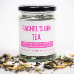 Personalised Gin Flavoured Tea Gift