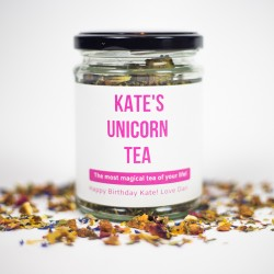 Personalised Unicorn Tea Gift