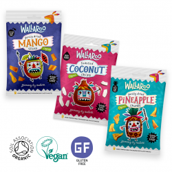 Organic Gently Dried Fruit Snacks Taster Pack