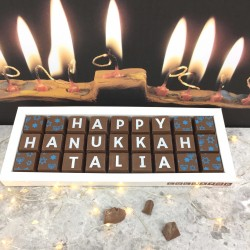 Personalised Chocolates For Hanukkah Gift