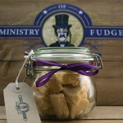 Salted Caramel Fudge Gift Jar