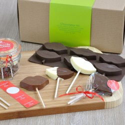 Personalised Chocolate Lips Lollipops Making Kit