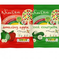 Kids Fruit and Veg Box - Air Dried Fruit Crisps (28 packs)