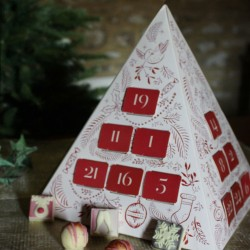 Pyramid Prosecco Chocolate Advent Calendar