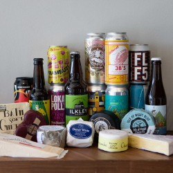 12 Craft Beers & 12 Cheeses Subscription