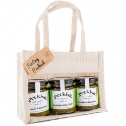 Vegan Coriander & Lime Pesto Gift Pack